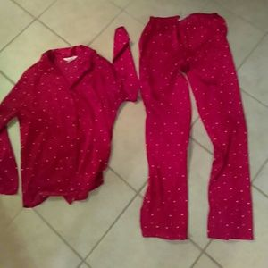 c129fc546e Gilligan   O Malley Intimates   Sleepwear - Red hot pajamas size small two  piece